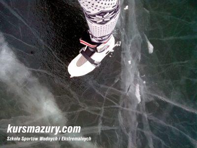 Warunki lodowe Wielkie Jeziora Mazurskie