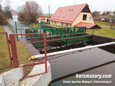 Węgorapa jaz Kanał MłyńskiIMG_20180101_141059a