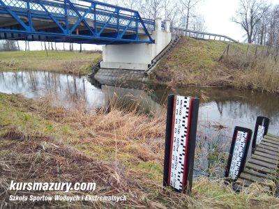 Węgorapa wodowskazy most za miejscowością Maćki IMG_20180101_142134a