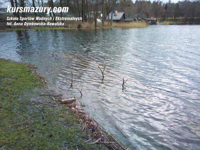 powódź na Mazurach Giżycko jezioro IMG_20180105_152156a