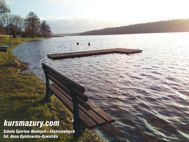 powódź na Mazurach Mikołajki jezioro IMG_20180106_142120a