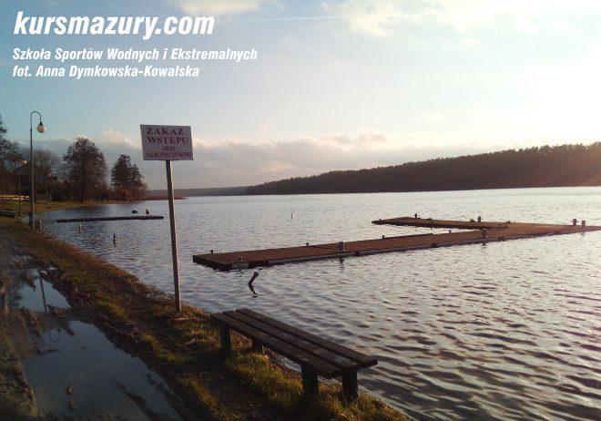 powódź na Mazurach Mikołajki jezioro IMG_20180106_142506a