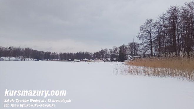 mazury lód Kisajno jeziora kursmazury IMG_20180118_145005