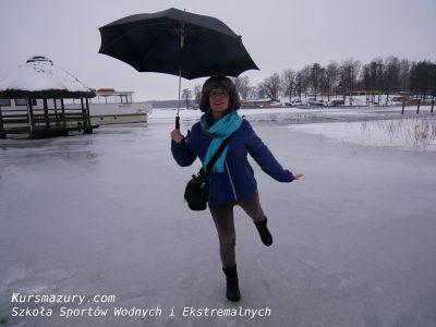 wielkie jeziora mazurskie mazury zimą