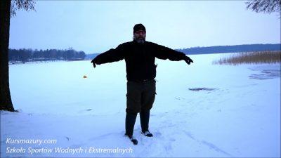 Warunki lodowe – 2019.01.09. Mazury