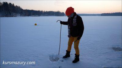 Warunki lodowe jezioro Kisajno – 2019.01.10.