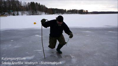 Warunki lodowe jezioro Kisajno – 2019.01.12.