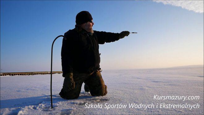 Warunki lodowe jezioro Niegocin – 2019.01.10.