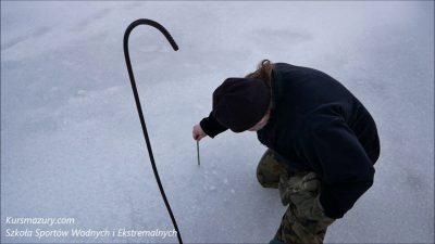 Warunki lodowe jezioro Niegocin – 2019.01.18.