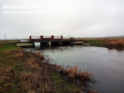 rzeka Węgorapa jaz pod Zabrostem IMG_20180103_103137a