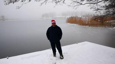 Warunki lodowe – Kisajno 21.12.2018r.