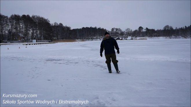 Warunki lodowe jezioro Kisajno – 2019.02.05.