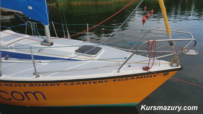 Tango780Sport Fazi Kursmazury mazury czarter jachtów Giżycko rejs