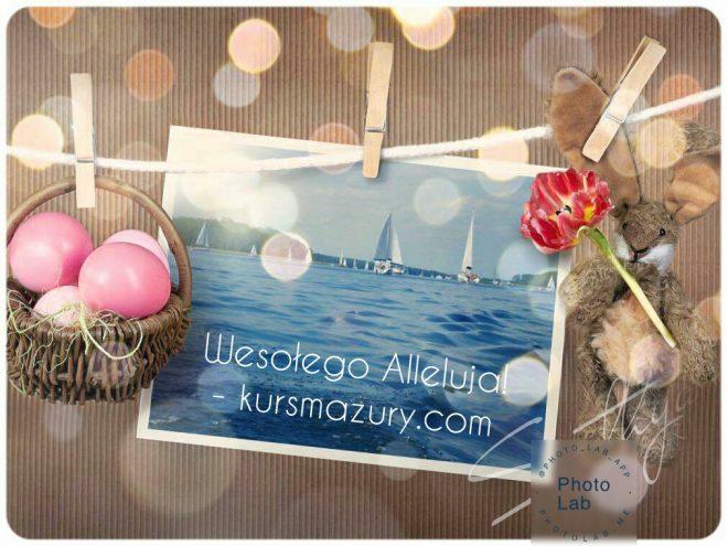 życzenia Wielkanocne kursmazury.com 2020 QRS MAZURY szkoła sportów wodnych i ekstremalnych wiosna na mazurach czartery jachtów rejsy szkoleniowe kursy żeglarskie sporty wodne wielkie jeziora mazurskie