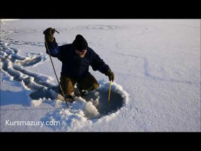 2021.01.17. – warunki lodowe Mazury