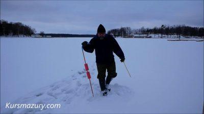 2021.02.04. – warunki lodowe jezioro Kisajno Mazury