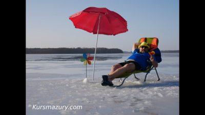 2021.02.25. – warunki lodowe jezioro Kisajno, Mazury