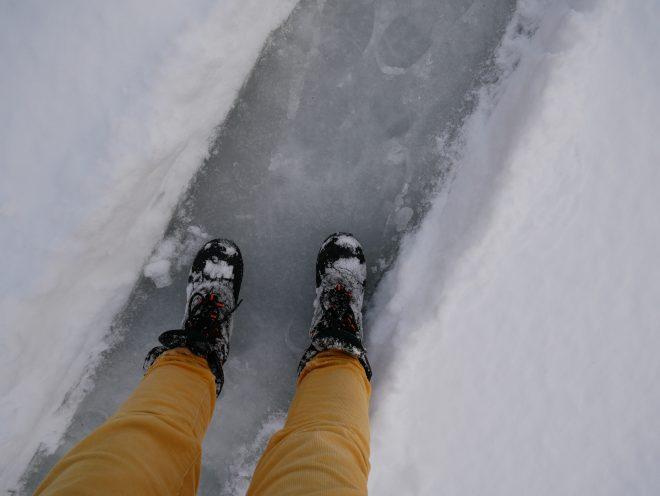 mazury giżycko warunki lodowe kursmazury zima lód wędkarstwo podlodowe ryby bojery prognoza