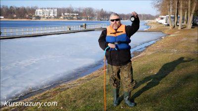 2021.03.03. – warunki lodowe jezioro Kisajno, Mazury